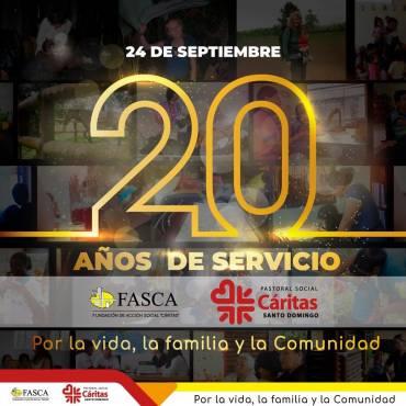 20 años al servicio de la comunidad