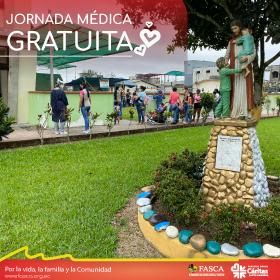 FASCA & Patronato Municipal de Inclusión Social: Jornada Médica Gratuita