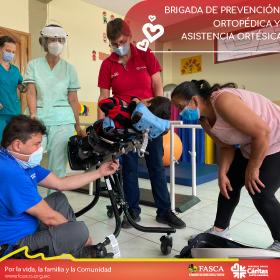 Brigada de Prevención Ortopédica y asistencia ortésica