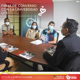 FASCA & UTE: Firma de convenio